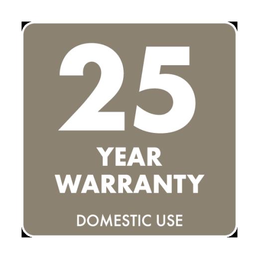 25yr Warranty