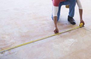measure floor