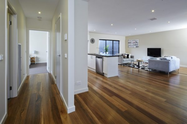 BRG Raw Spotted Gum room